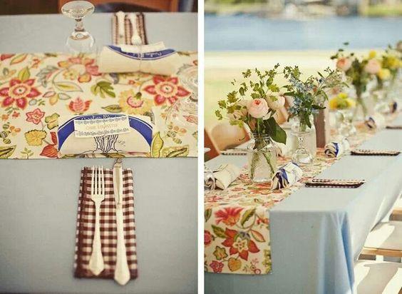 Mesa, flores, simple, beautiful