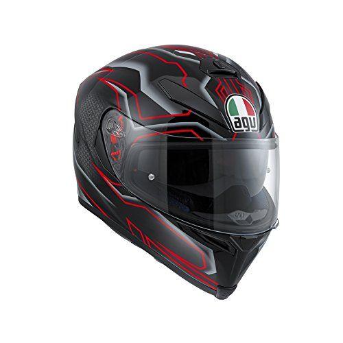 S, Nero Casco Moto Hjc Fg-17 Talos Nero