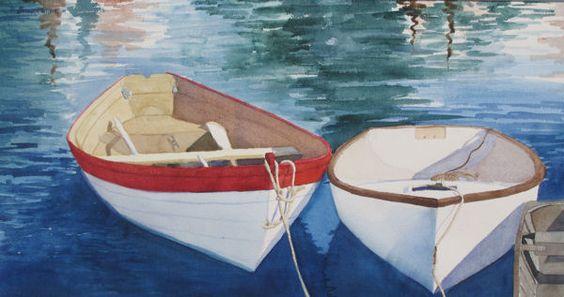 Yvonne Wilson Boone: Color Paintings, Art Watercolors, Art Ispiration, Watercolor Images, Boone Watercolor, Watercolor Paixão, Nautical Paintings, Watercolor Nautical