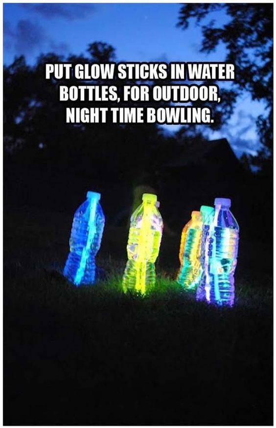 Outdoor Game at Night Spiel im Dunkeln Flunkyball ?!