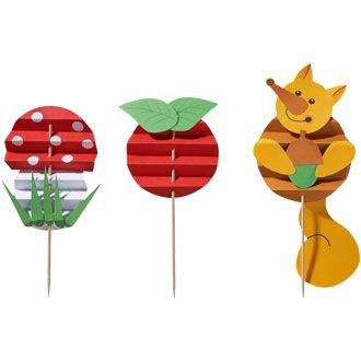 Faltfiguren Herbst, Bastelset für 8 Stück online bestellen - JAKO-O