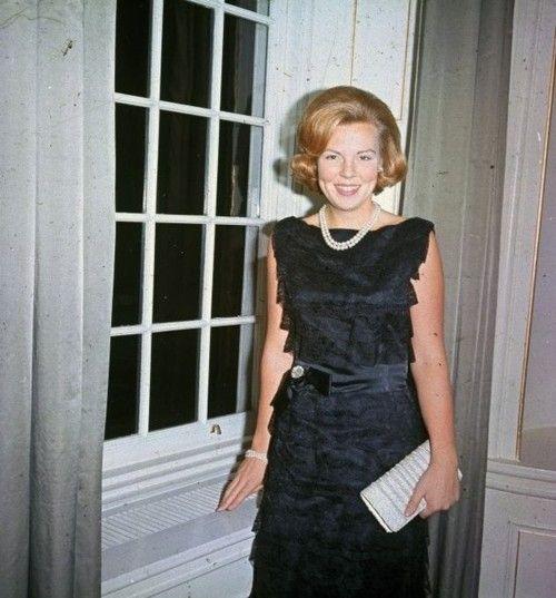 I love Queen Beatrix of Netherlands! she s always smiling    1960s.