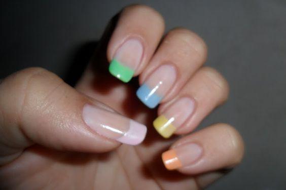 Francesinha Colorida Tons Pastel