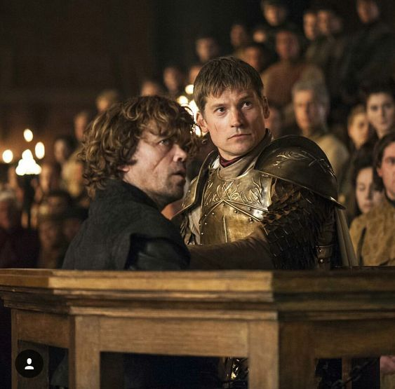Game of Thrones :Tyrion Lannister and Jaime Lannister