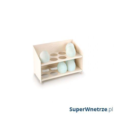 Stojak na jajka emaliowany Tala Retro kremowy 10B00153