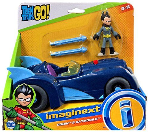 DC TEEN TITANS GO T-CAR /& CYBORG VEHICLE AND FIGURE PLAY SET TOY