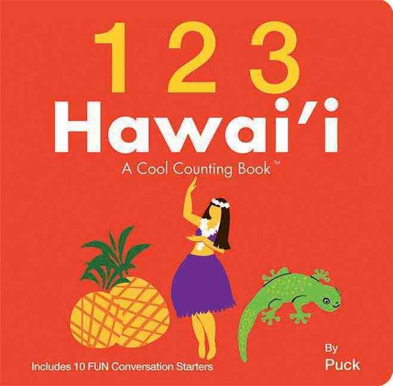 1 2 3 Hawaii: A Cool Counting Book