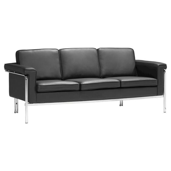 Ingular Sofa Black - Zuo, Sofa