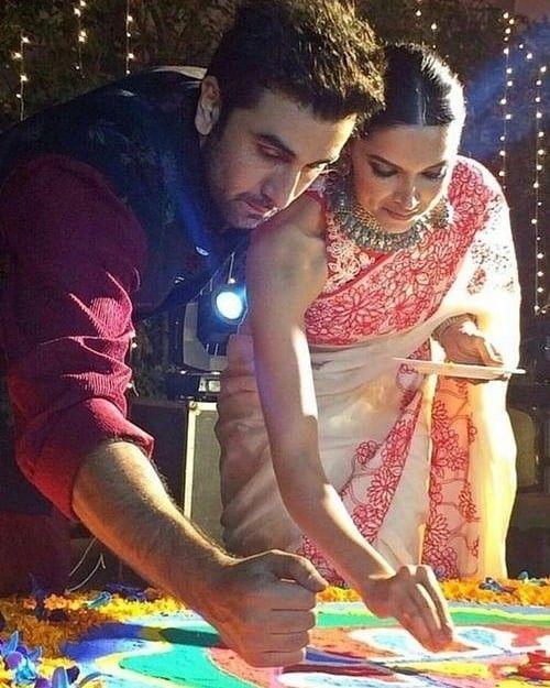 Deepika Padukone Happy Diwali Deepika Padukone Bollywood Celebrities Deepika Ranveer