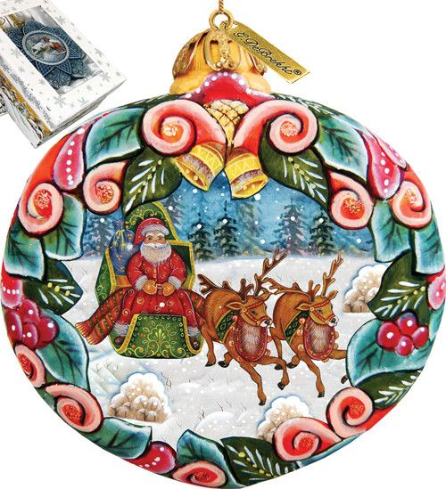 Holiday Sleigh Ride Ornament