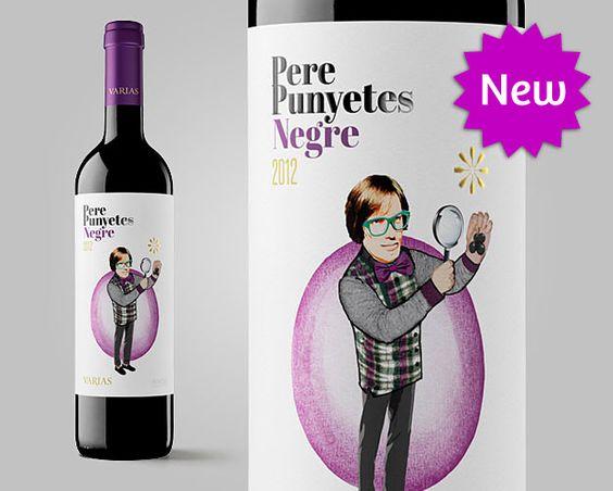 Pere Punyetes Negre, Cava Varias #penedes #design #packaging #spanishwine