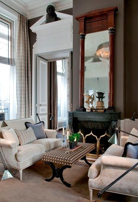 rue des saints p res jean louis deniot and pierre frey less is a bore pinterest decor. Black Bedroom Furniture Sets. Home Design Ideas