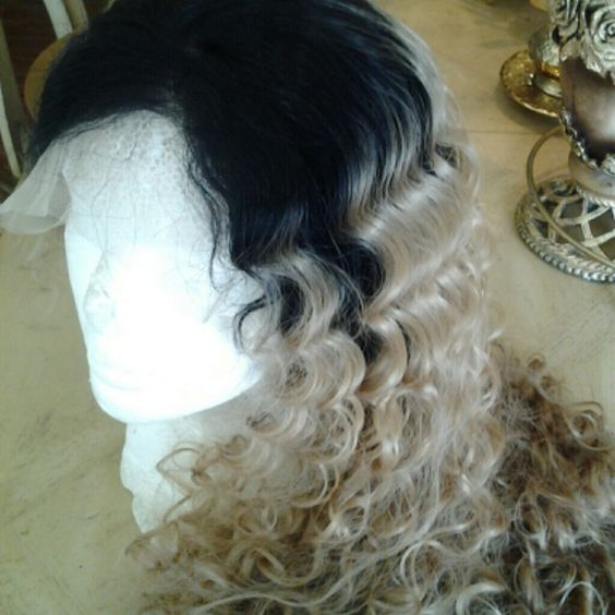 Beautiful Ombre Full Lace Front Wig 26-30 inches