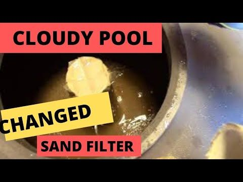 My Pool Is Cloudy Diy Change Sand In My Pool Filter Youtube In 2020 Pool Filters Pool Filters
