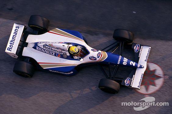 Ayrton Senna, Williams