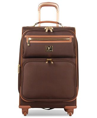 """Diane von Furstenberg Suitcase, 20\"""" Private Jet II Rolling Carry On Expandable Spinner Upright"""