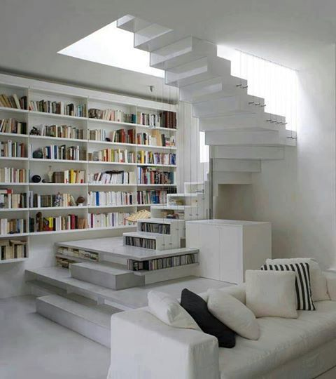 Dizzy Modern Home Library