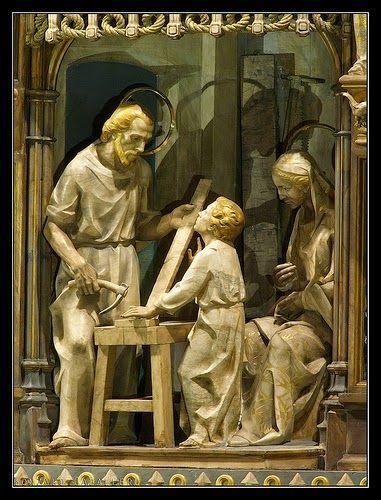 TORRECIUDAD - Destaca el retablo, esculpido en alabastro por Joan Mayné
