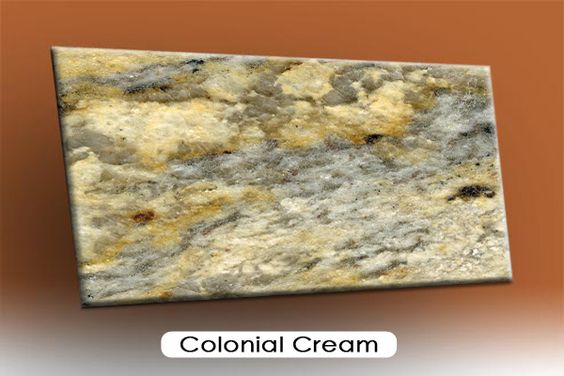 Rare Onyx Slabs : Granite colonial cream new kitchen plan pinterest