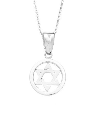 This Stainless Steel Star of David Pendant Necklace is perfect! #zulilyfinds