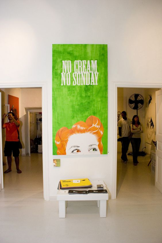re:cover exhibition by tind , via Behance