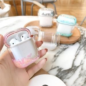 Stars In Your Eyes Glitter Clear Airpods Case in 2020