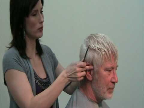 ▶ Simple Mens Razor Haircut using the Feather Styling Razor - Part 2 - YouTube