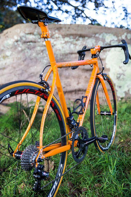 Bicicleta Naranja
