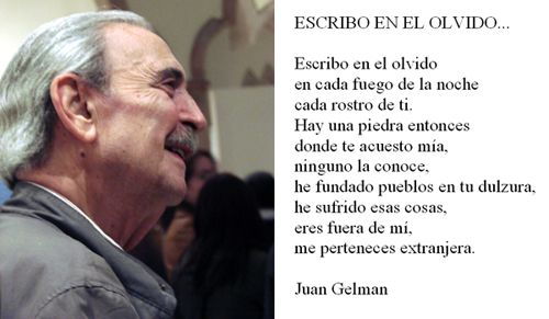 Un poema de Juan Gelman - Shane Tolbert