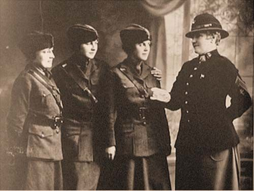 Opha M. Johnson: On Aug. 13, 1918, Johnson became the first woman to enlist in the USMC, joining the Marine Corps Reserve during WWI. She was the first of 305 women to enlist.