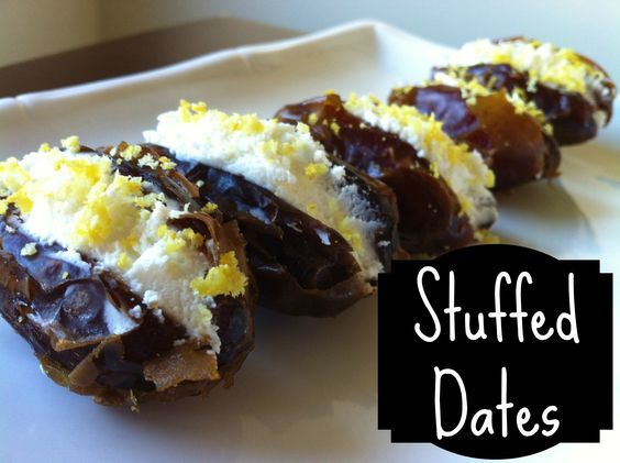 These stuffed dates blew me away! I really wasn't expecting much because it seems like sort of a simple dish, but the super sweet dates paired with the creamy rich goat cheese topped with the fresh tang of the lemon rind makes an excellent combination. The contrasting elements of each …Share this: