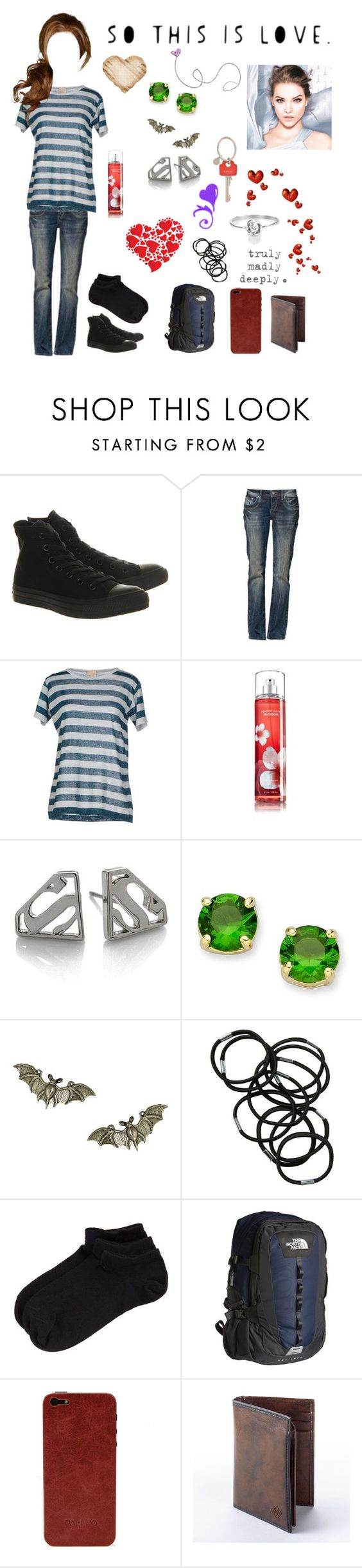 """Ian 23"" by stockmon ❤ liked on Polyvore featuring Converse, Circus Hotel, Noir, Kate Spade, Giles, Monki, Zella, The North Face, Palila and Columbia Sportswear"