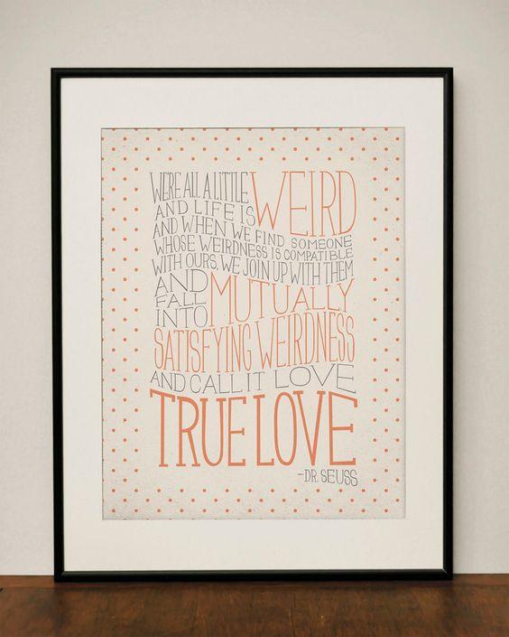 Dr. Seuss Love Quote