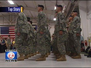 Members of the 432-nd Civil Affairs Battalion are back on U.S. soil after serving in Afghanistan.  After going through demobilization at a base in Indiana, they should return to Wisconsin next week.  Welcome home!!!