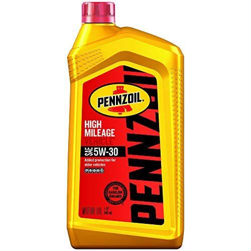 Pennzoil 550022838 Pk6 5w 30 High Mileage Vehicle Motor Oil 1
