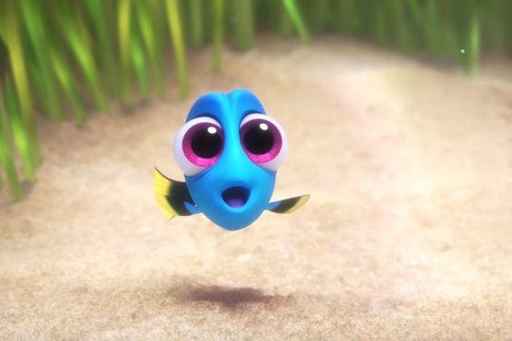 """Dory aparece bebê em novo teaser de """"Procurando Dory"""". Fofura!"""