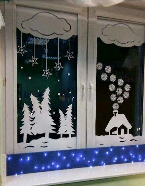 13++ Decoracion de ventanas para navidad trends