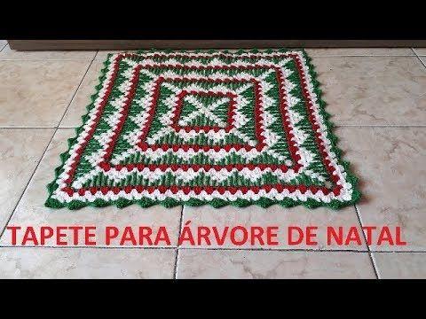 Tapeta De Croche Para Arvore De Natal Ponto Falso Vagonite Por