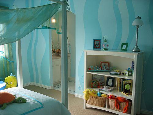 Mermaid / Underwater Girl's Room
