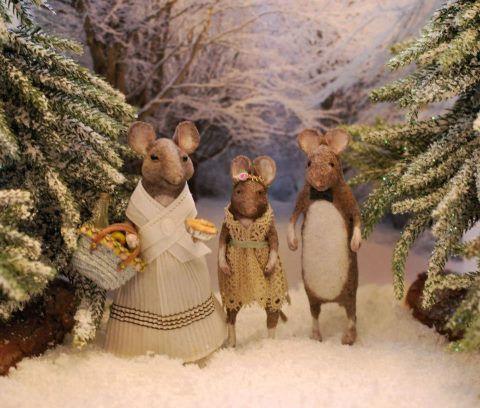 Christel Jensen's Christmas mice