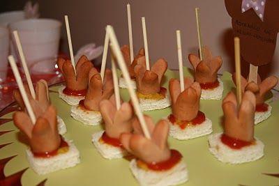 μπουφές για παιδικό πάρτυ
