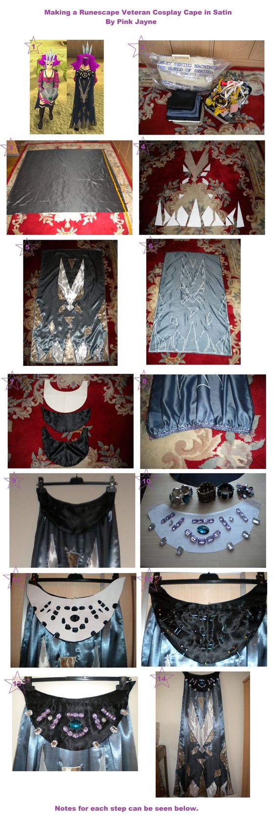White apron runescape - How To Make A Runescape Veteran Satin Cosplay Cape By Pink7777