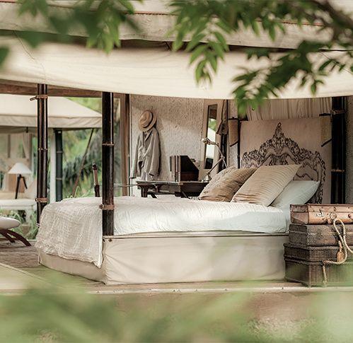 Tentes de luxe camping sauvage safari éco lodges Escape Nomade   Vogue