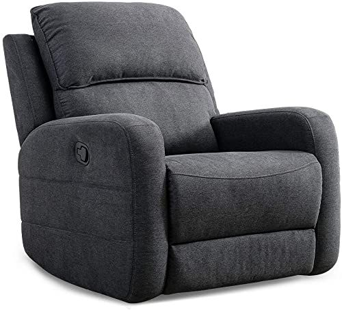 New Canmov Oversize Design Recliner Chair Manual Reclining Sofa Contemporary Living Room Chair Gray Online Prettytrendyfashion In 2020 Contemporary Living Room Chairs Recliner Chair Living Room Chairs