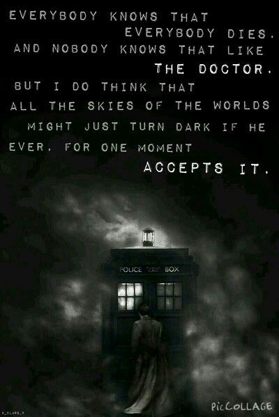 Doctor Who quote xx