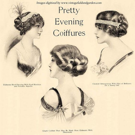 Middle, Coiffures And Chignons On Pinterest