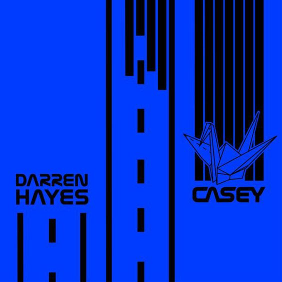 Darren Hayes – Casey (single cover art)