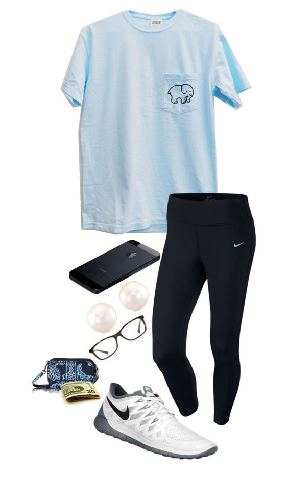 """""""doctor"""" by shelbycooper ❤ liked on Polyvore featuring NIKE, GlassesUSA, Vera Bradley, women's clothing, women, female, woman, misses and juniors"""