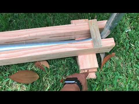 Diy Leveling Your Trampoline On Uneven Ground Cheap And Easy Way Youtube In 2020 Trampoline In Ground Trampoline Diy