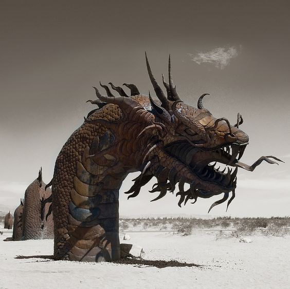 Mojave Desert Sand Dragon